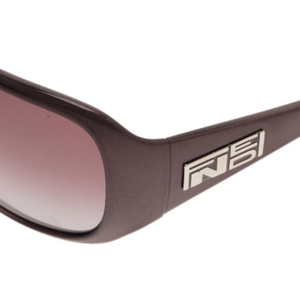 Fendi Grey FS499 Oversized Rectangle Sunglasses