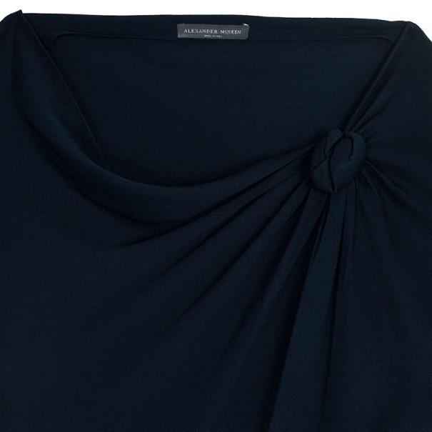Alexander McQueen Satin Block Dress S
