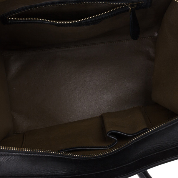 Celine Tricolor Mini Lugggage Tote