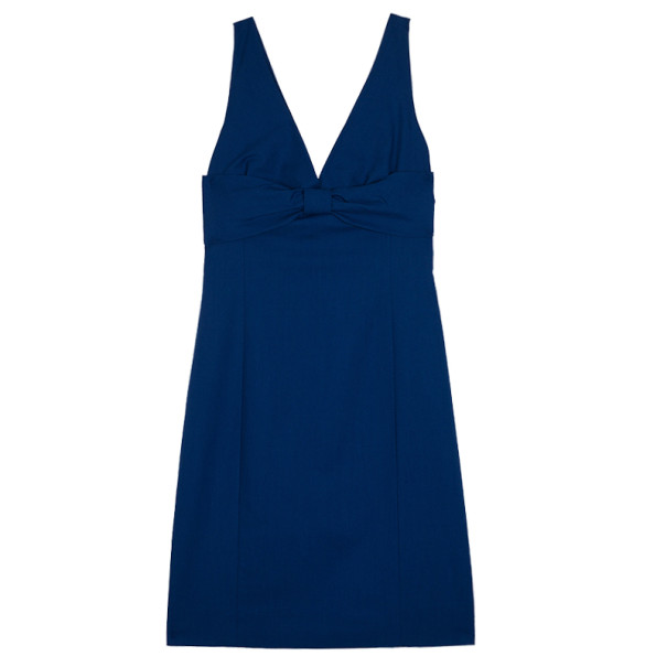 Moschino Bow Detail Fitted Dress M