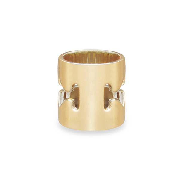 Mawi Razor Blade Ring With Solitaire Size 54.5