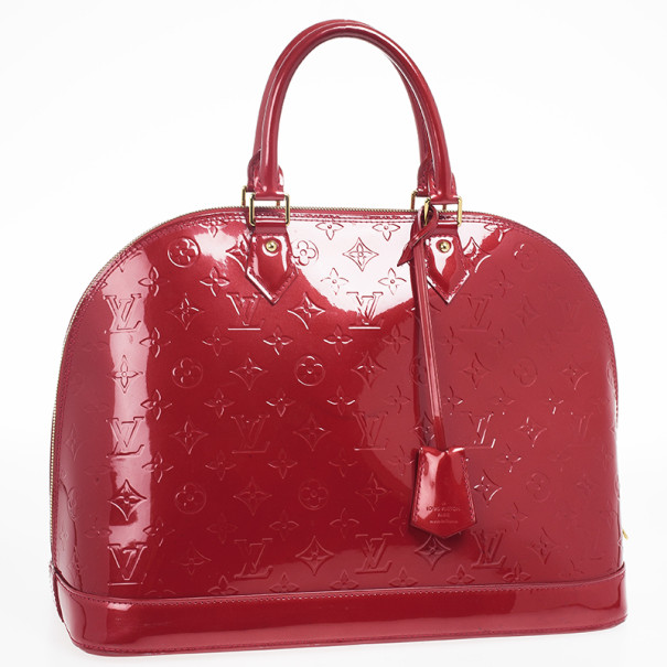 Louis Vuitton Pomme D'Amour Monogram Vernis Alma GM