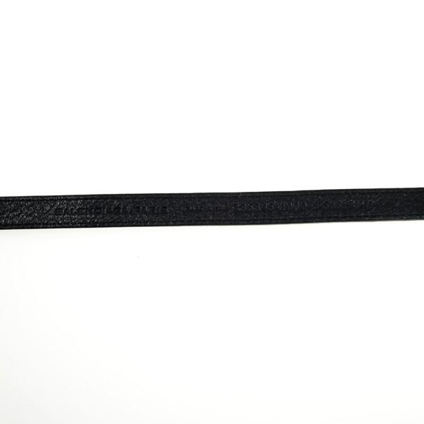 Balenciaga Giant Gold Triple Tour Black Bracelet