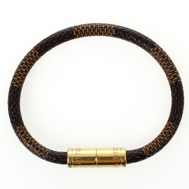 Louis Vuitton Keep It Damier Ebene Bracelet