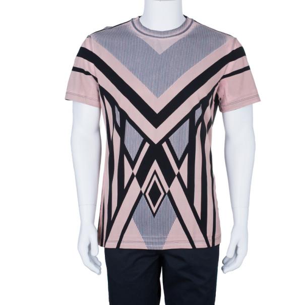 Jean Paul Gaultier Mens Abstract Print T-Shirt XL