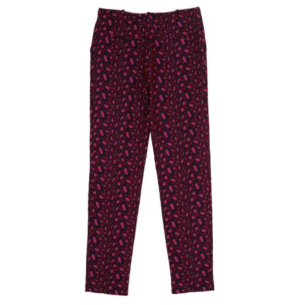Kenzo Leopard Jacquard Skinny Pants S
