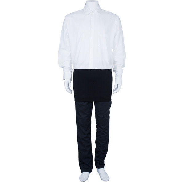 Jean Paul Gaultier Mens White Shirt L
