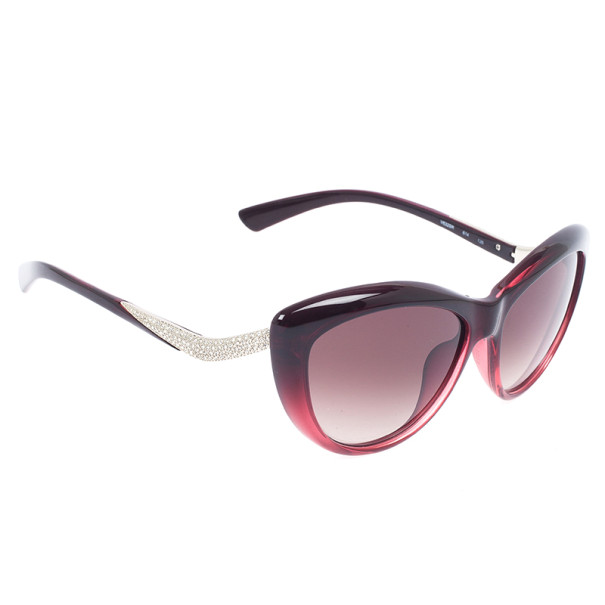 Valentino Red Crystal Woman Sunglasses V632SR-614