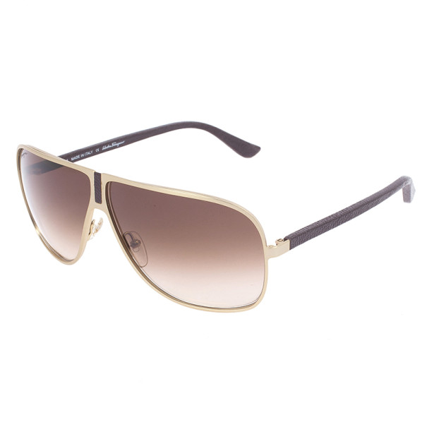 Salvatore Ferragamo Metal Unisex Sunglasses SF102SL-719