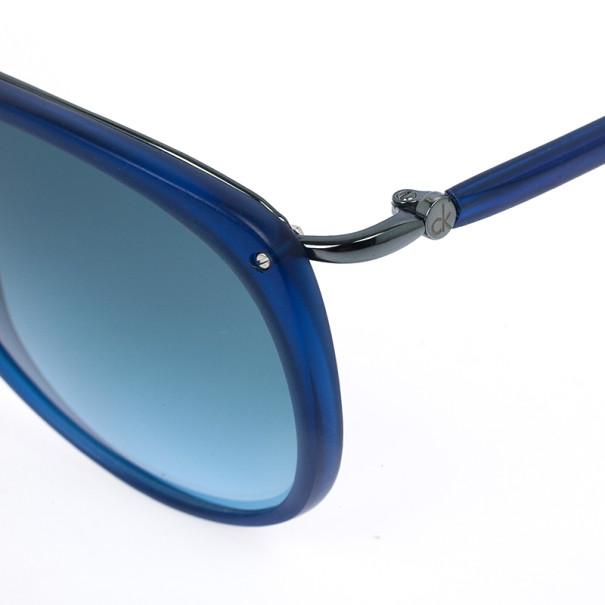 Calvin Klein Blue Unisex Sunglasses CK3147S-243