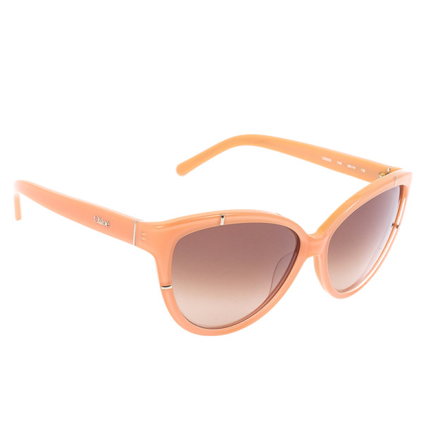 Chloe Orange Woman Sunglasses CE603S-749