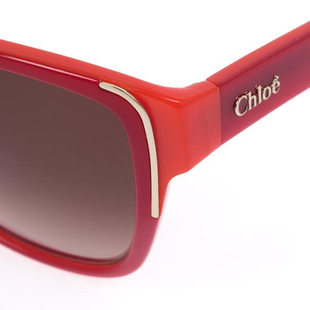Chloe Red Woman Sunglasses CE601S-673