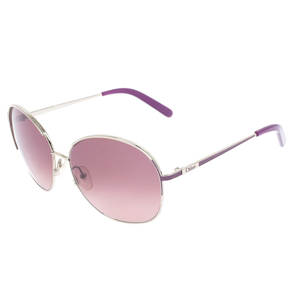 Chloe Purple Woman Aviators CE104S-746
