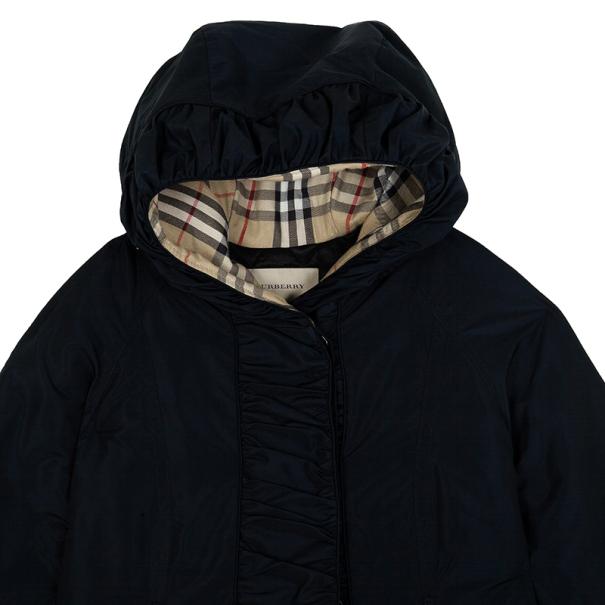 Burberry Puff Sleeve Parka Jacket XS