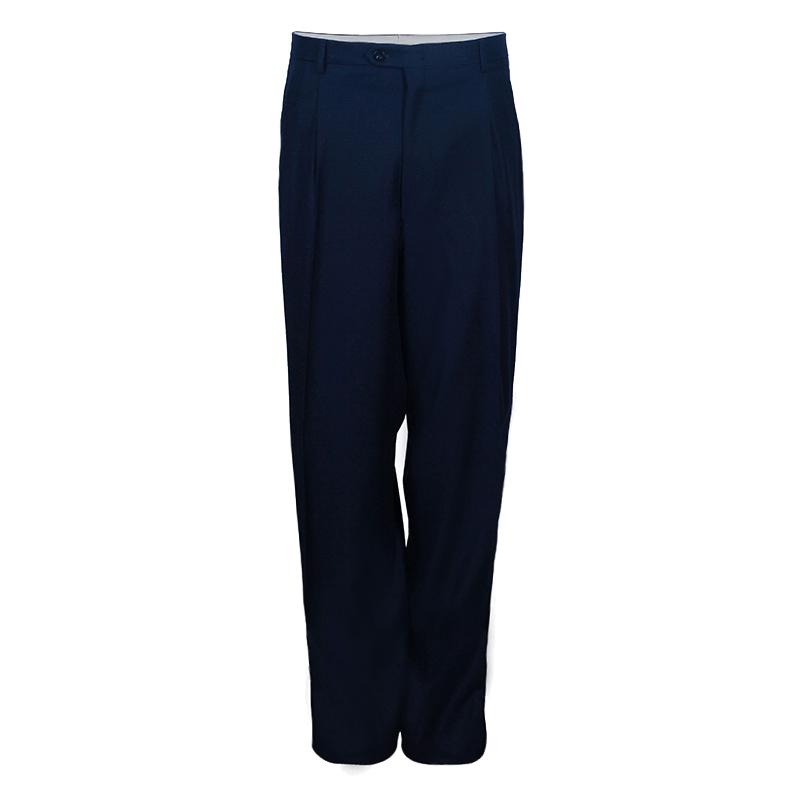 Brioni Men's Navy Wool Trouser EU 62
