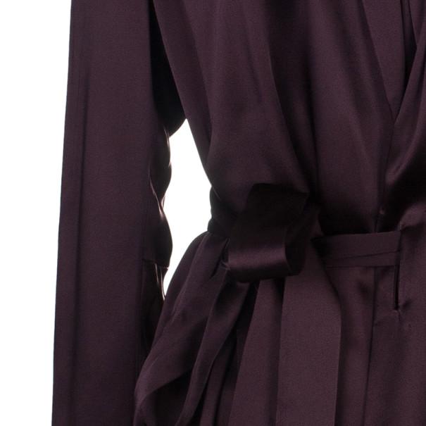 Chalayan Amaranth Robe Top M