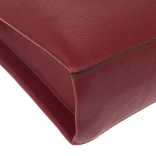 Cartier Red Classic Feminine Line Chain Bag