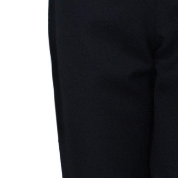 Chalayan Black Wool Slim Pants M