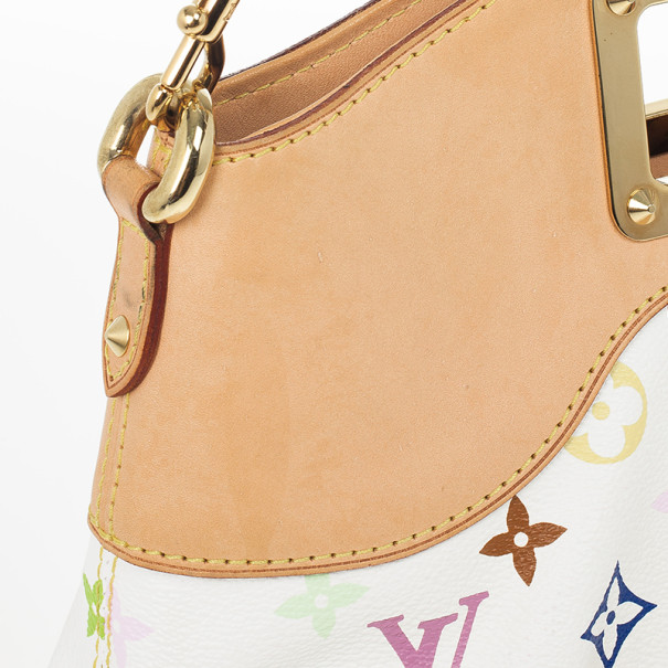 Louis Vuitton White Multicolor Judy MM