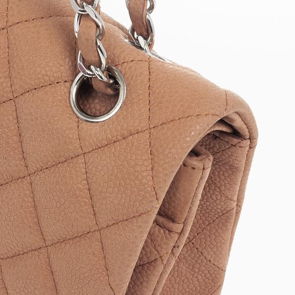 Chanel Classic Pink Caviar Medium Flap Bag