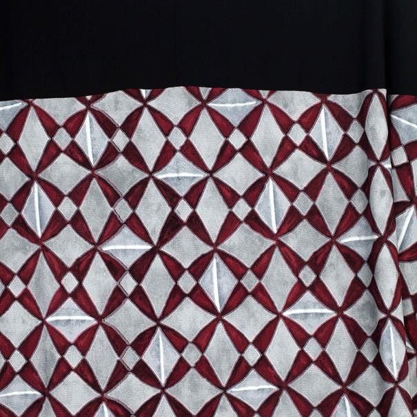 Balenciaga Paris Mosaique Print Top L