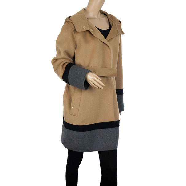 MaxMara Studio Block Color Coat M