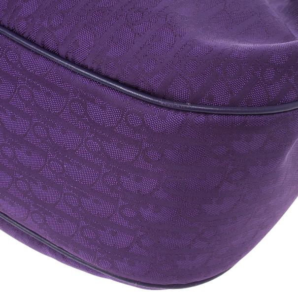 Christian Dior Purple Lovely Hobo