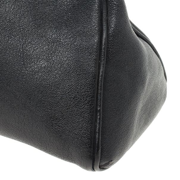 Cartier Black Leather Small Marcello de Cartier Bag