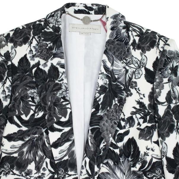Stella McCartney Frazier Flower Print Blazer L