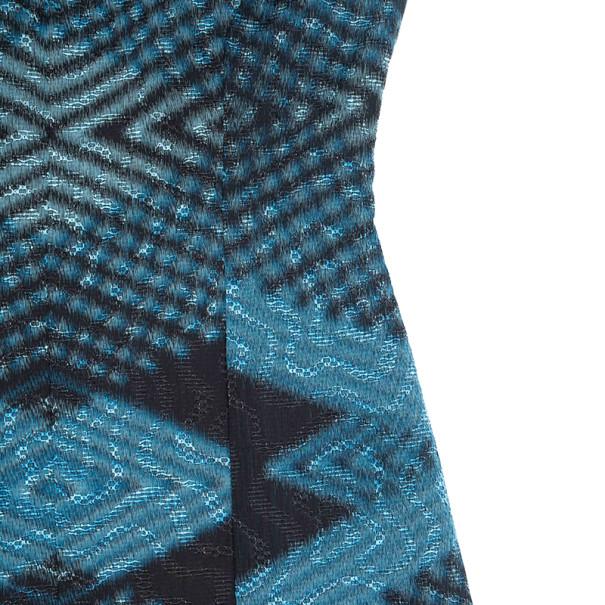 Derek Lam Psychedelic Print Dress S
