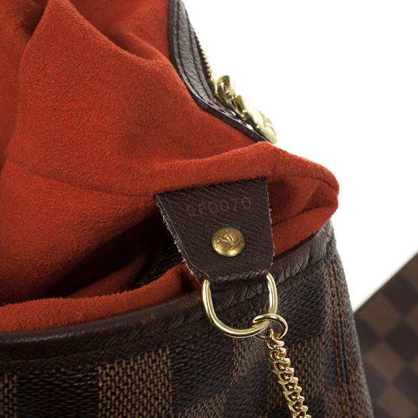 Louis Vuitton Damier Ebene Marais Petite Bucket Tote