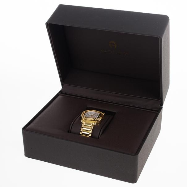 Aigner Genua SS Diamonds Womens Wristwatch 30 MM