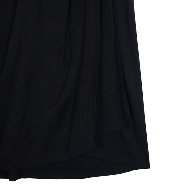 Diane Von Furstenberg Mateo Black Dress XL