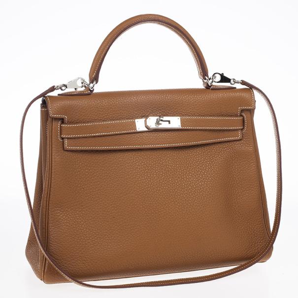 Hermes Tan Kelly 32cm