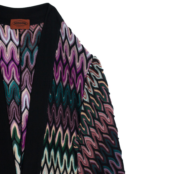 Missoni Multicolor Front Pocket Coat