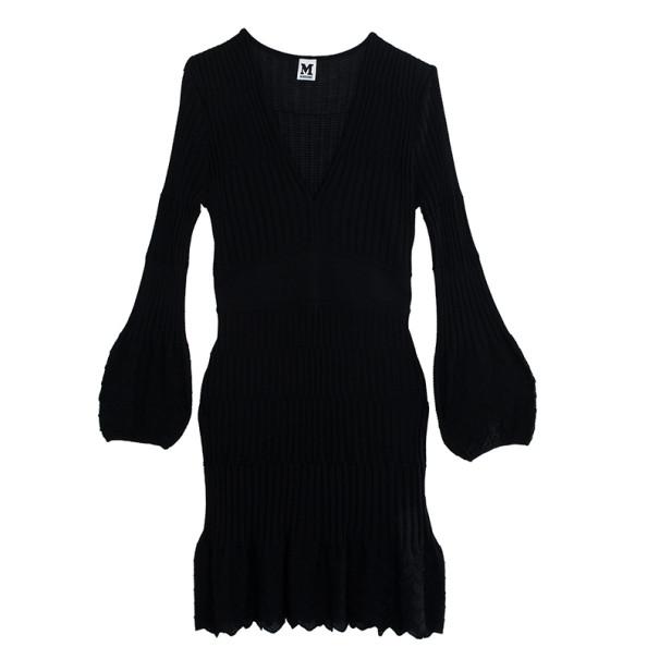 M Missoni Black Knit Dress XXL