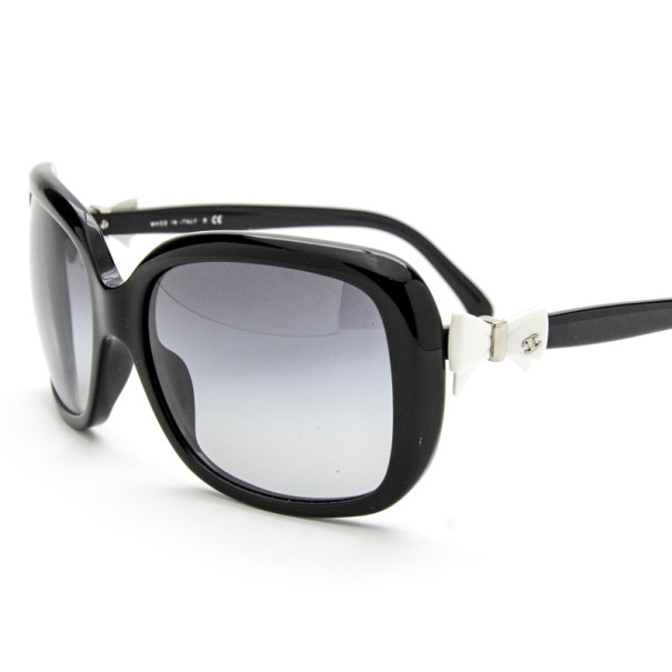 Chanel Black 5171 Bow Woman Sunglasses