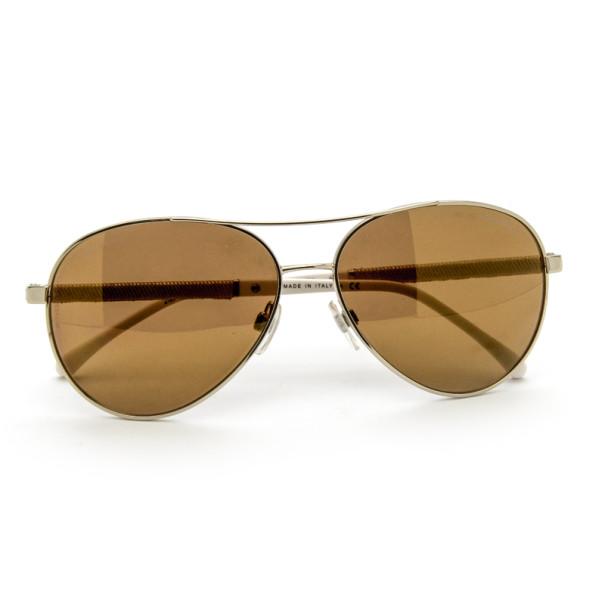 Chanel Gold Rimmed 4185 Woman Aviators