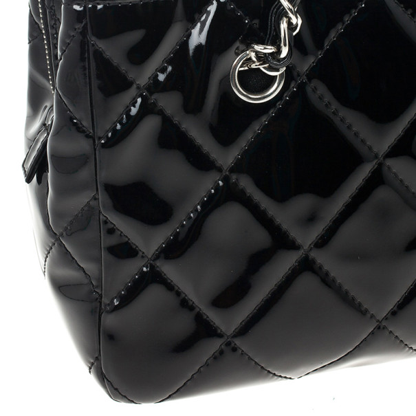 Chanel Black Quilted Vintage Large Tote Bag