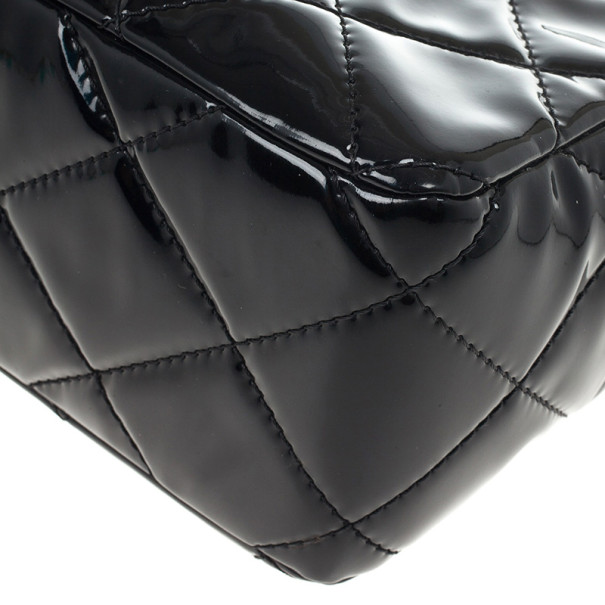 Chanel Black Quilted Vintage Large Tote Bag