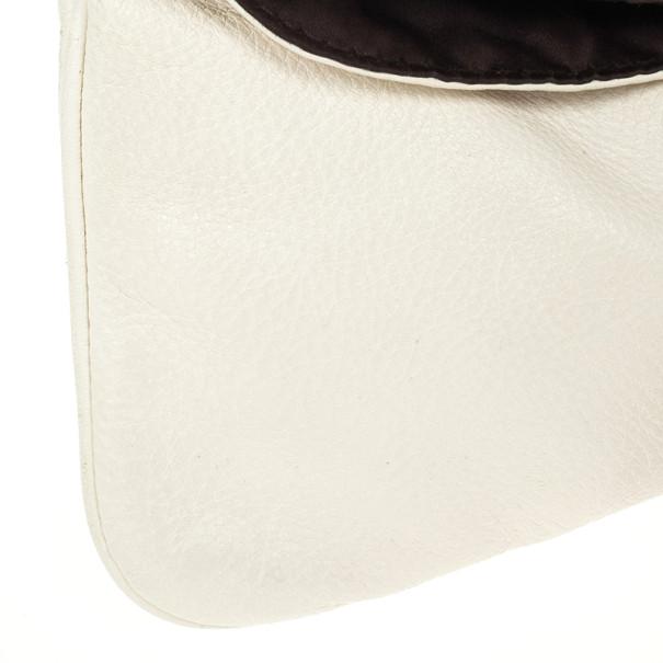 Valentino White Leather Shoulder Bag