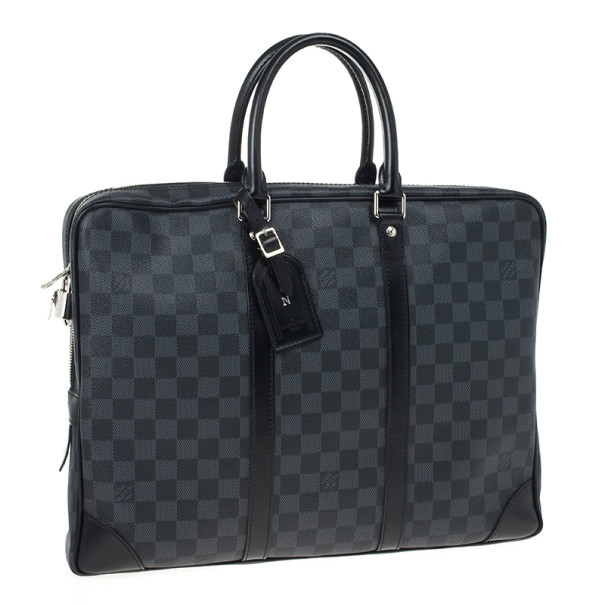 Louis Vuitton Damier Graphite Porte Documents Voyage Briefcase