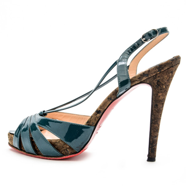 cheap christian louboutin shoes replica - Artesur ? christian louboutin patent leather Activa sandals