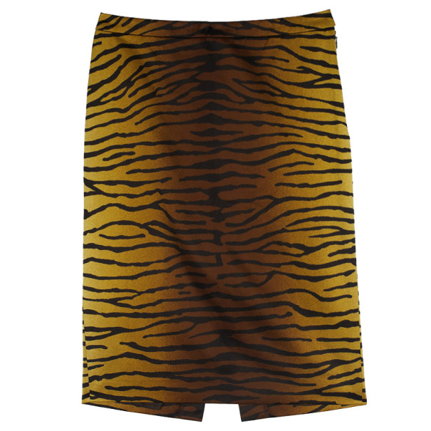 Michael Kors Animal Print Skirt S