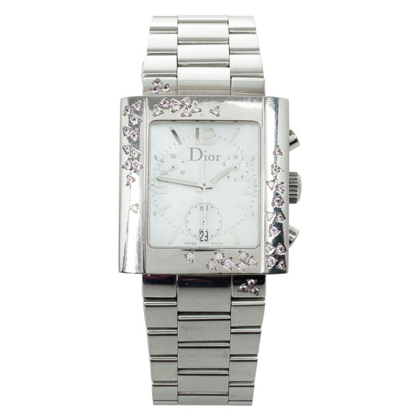 Christian Dior Riva Stainless Steel Womens Watch 31 MM