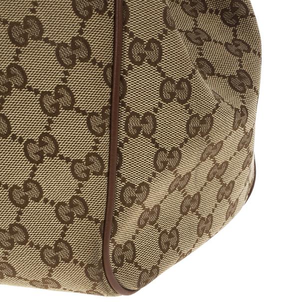 Gucci GG Canvas Sukey Large Tote