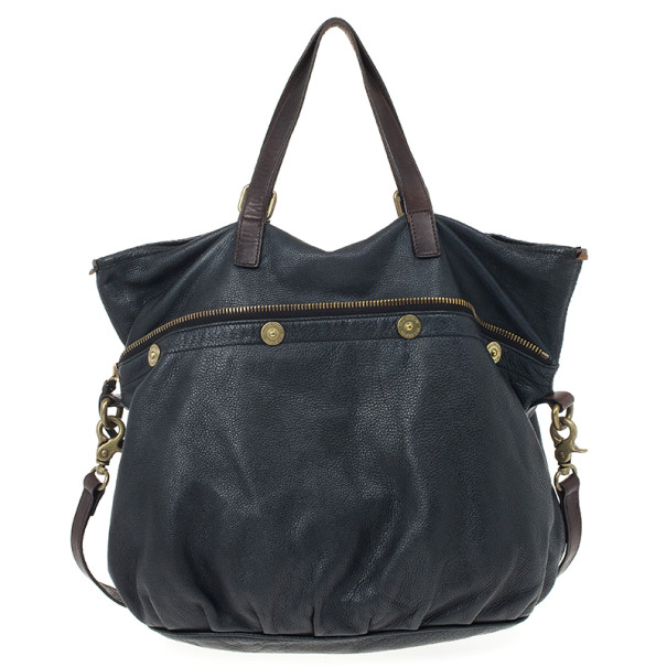 Mulberry Black Leather Mitzy Tote