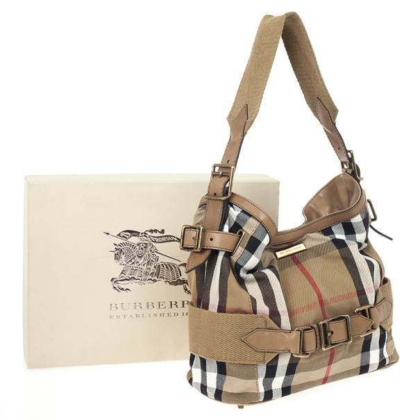 Burberry Prorsum Vintage House Check Tote