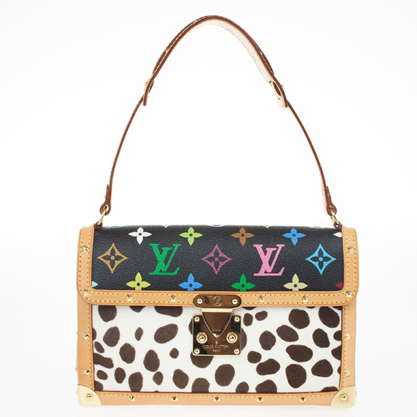 Louis Vuitton Limited Edition Multicolore Dalmatian Sac Rabat Satchel
