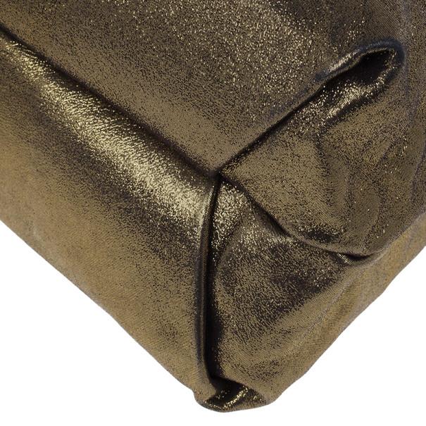 Louis Vuitton Limited Edition Gold Monogram Lurex Sunbird Bag